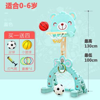 Basket ball + soccer stand