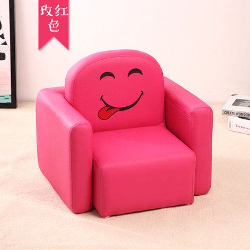 Multipurpose kids sofa - Smiley design