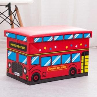 Toy storage box and stool