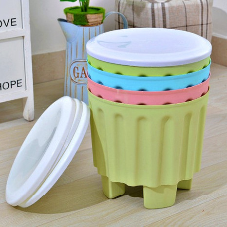 Stackable Storage Stool