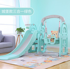 Swing and slide play set