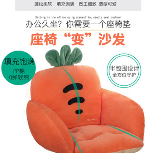 Cushion - Carrot