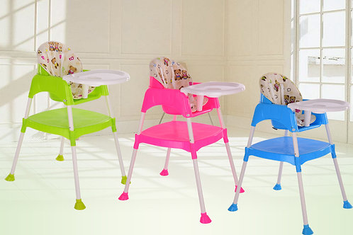 Multipurpose dining chair and table