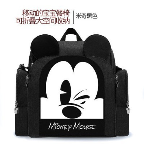 Mickey mouse booster seat bag