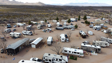 Aerial of Tombstone RV Park