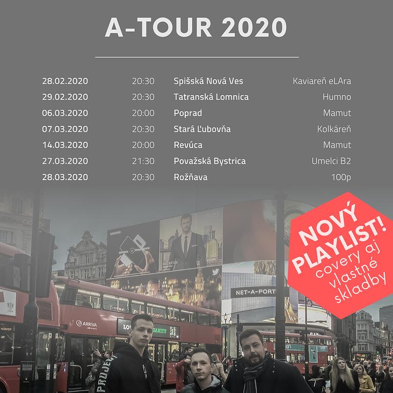 A-TOUR 2020 / Považská Bystrica / Umelci B2