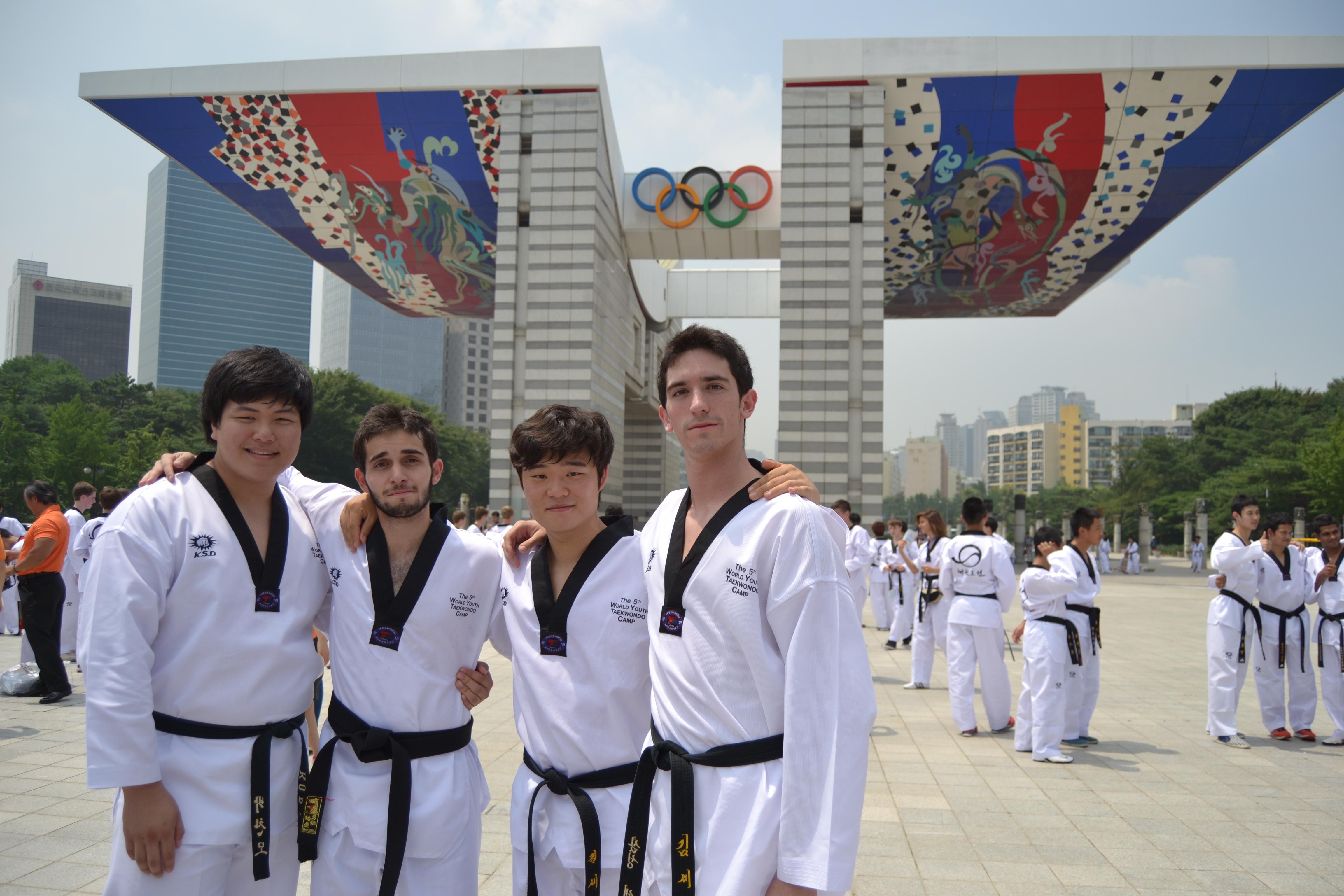 Taekwondo Madrid visita korea