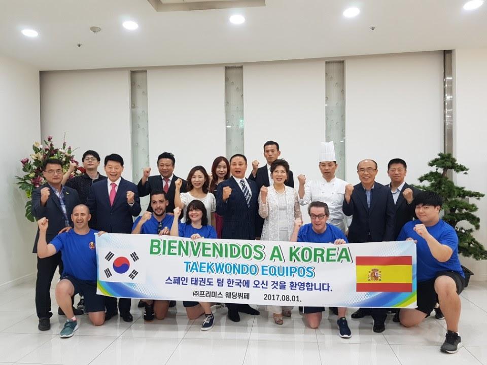 taekwondo park madrid en corea