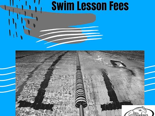 2021 Swim Lessons Fee