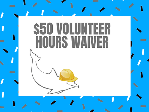 2021 Swim Club Volunteer Fee