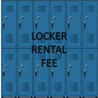 2021 Locker Rental Fee