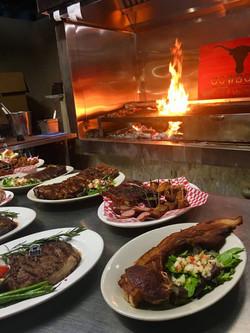 Wood-Burning Grill