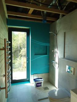 Fuktspärr och badrumskakel