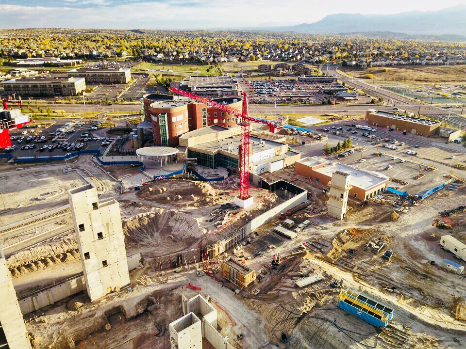 Penrose Hospital Colorado Springs aerial img 7_10.21.17