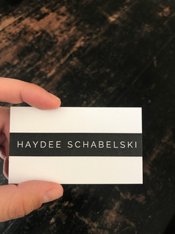 Haydee S. Tour Guide Business Card_front