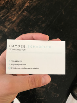 Haydee S. Tour Guide Business Card_back