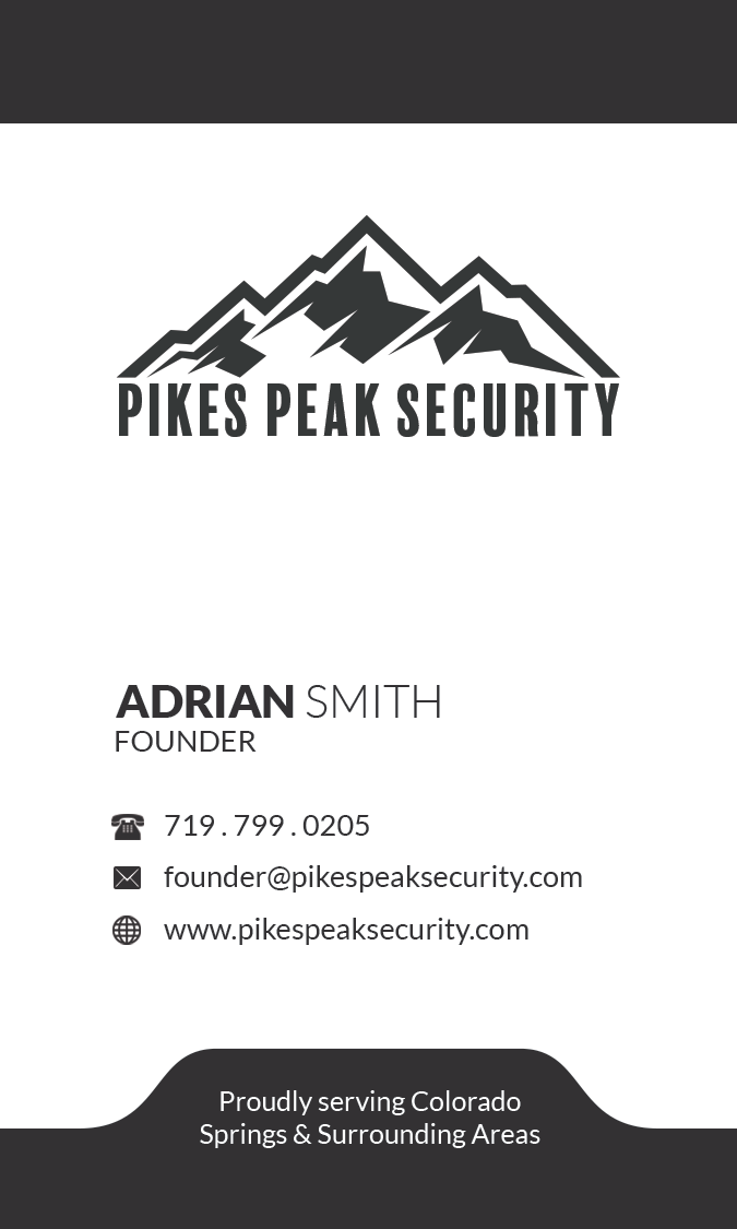 Adrian Smith-Pikes Peak Security-Busines