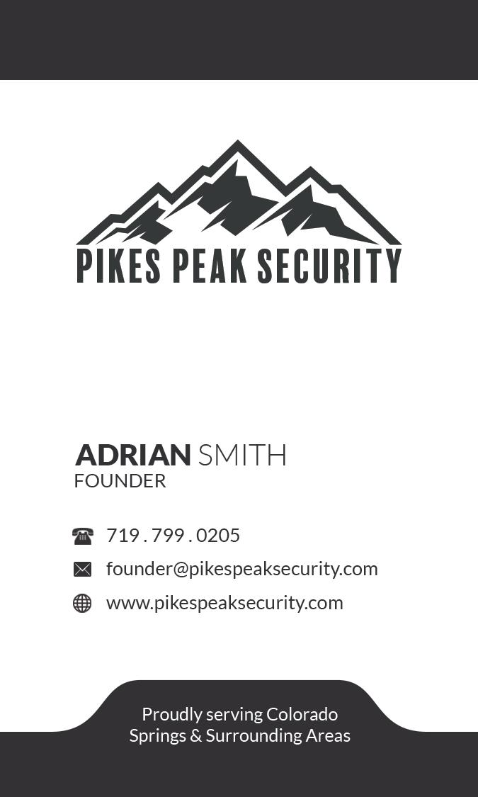Adrian Smith-Pikes Peak Security-Busines