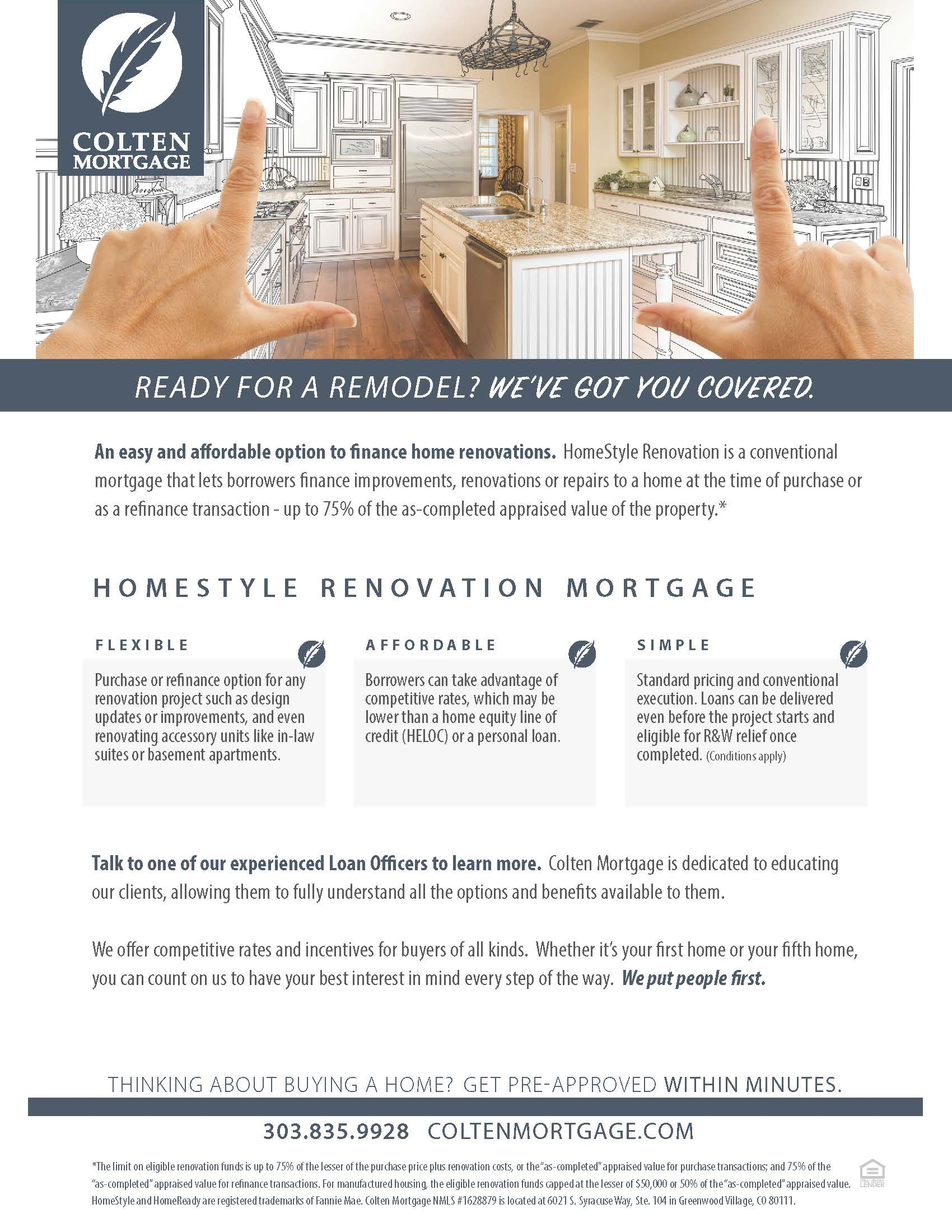 HomeStyle Renovation Flyer