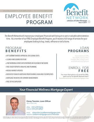 Employee Benefit Program Flyer