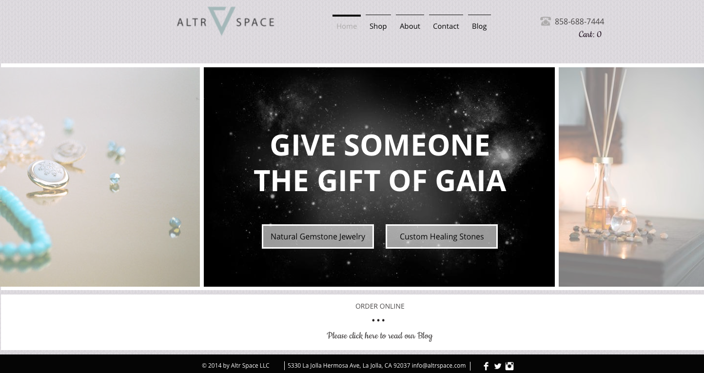Altr Space Site