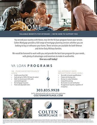 VA Loan Flyer
