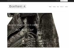 Ocelloni-n Website Home pg