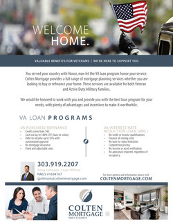 VA Loan Flyer_Greg Johnson