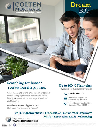 Searching for Home Flyer