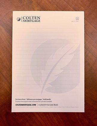 """Bic Non-Adhesive Notepad - 5x7"""" - 50 Sheet"""