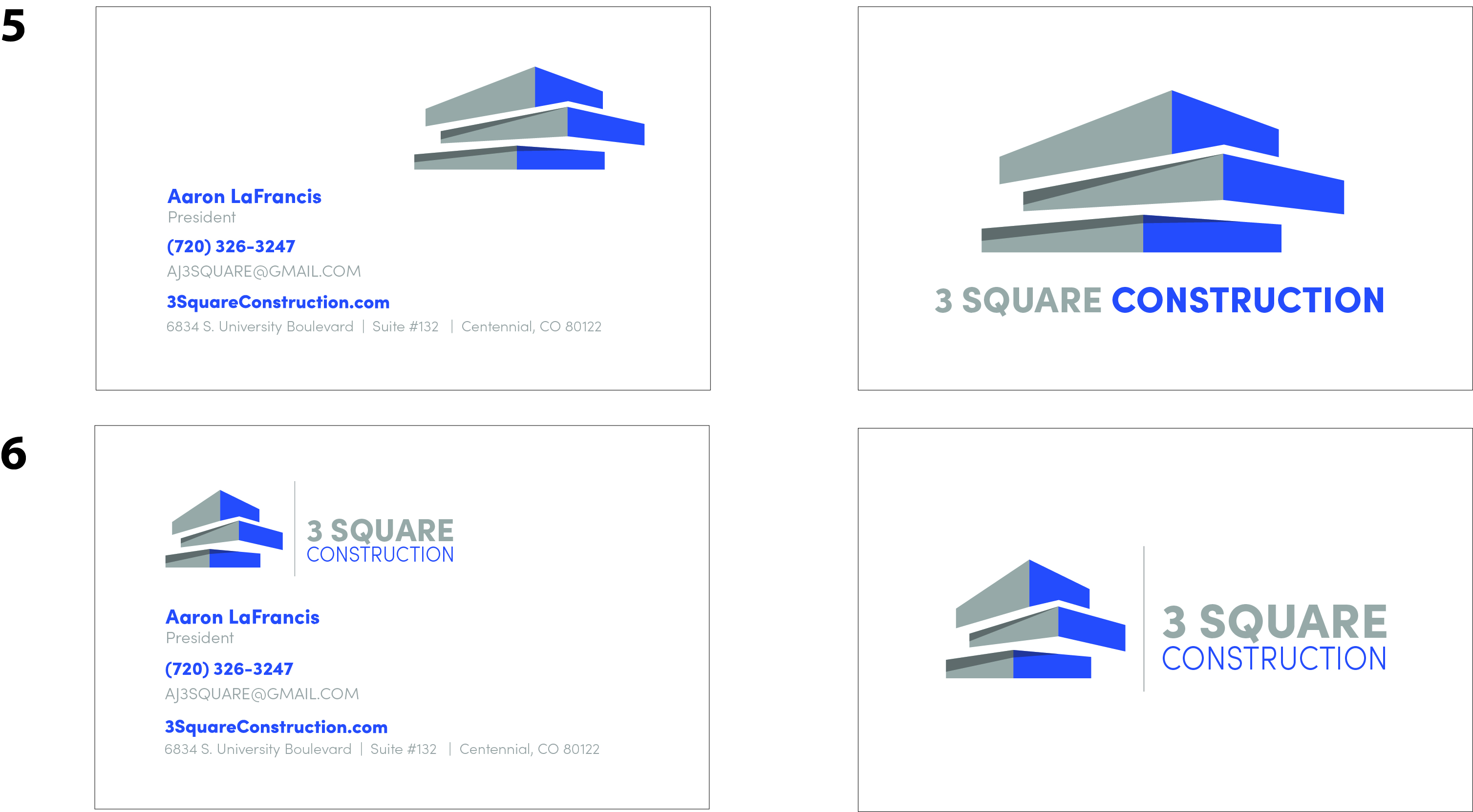 Business Card Drafts-3 Square Constructi