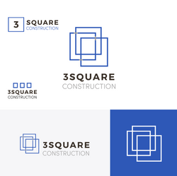 New 3 Square Logo Draft-V2