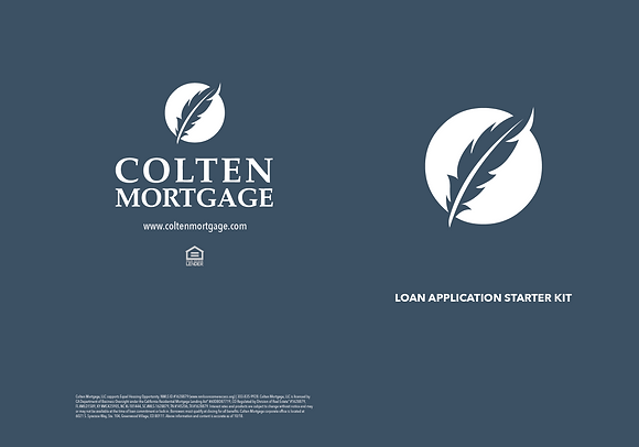 Loan Application Starter Kit 6x9 Folders