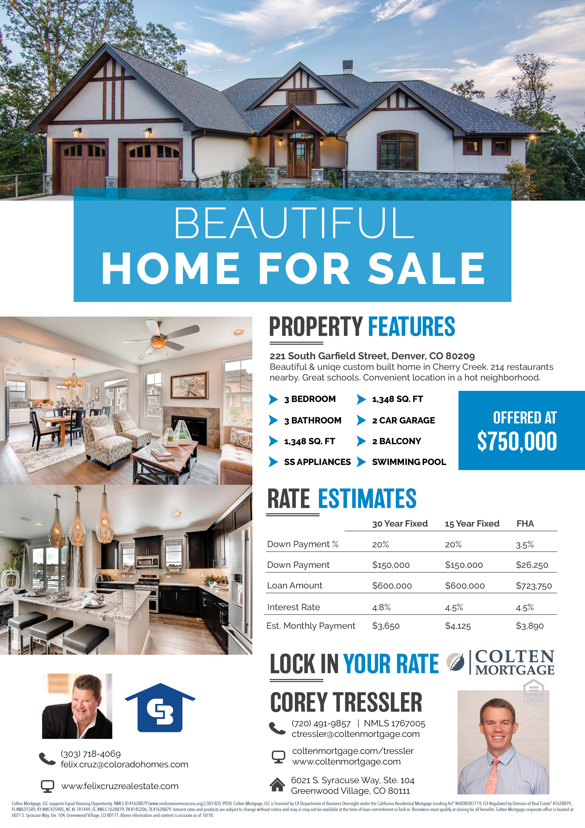 Realtor Listing Flyer Template