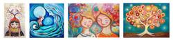 דינה ארגוב ציור אחיות