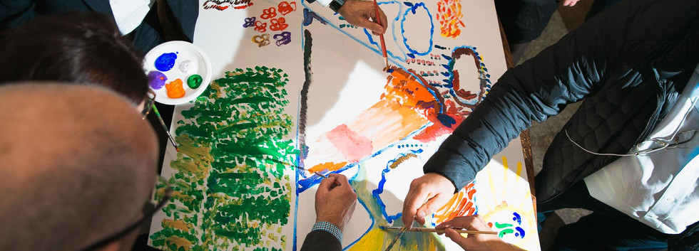 גיבוש יצירתי יום חווייתי לקבוצות וארגונים