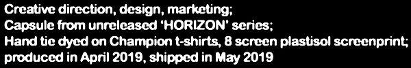 Creative direction, design, marketing; C
