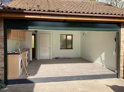 Garage Conversion - extra utility space