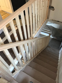 Bannister install