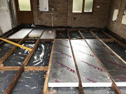 Garage conversion - floor insulation