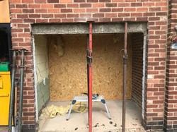 Garage conversion - before
