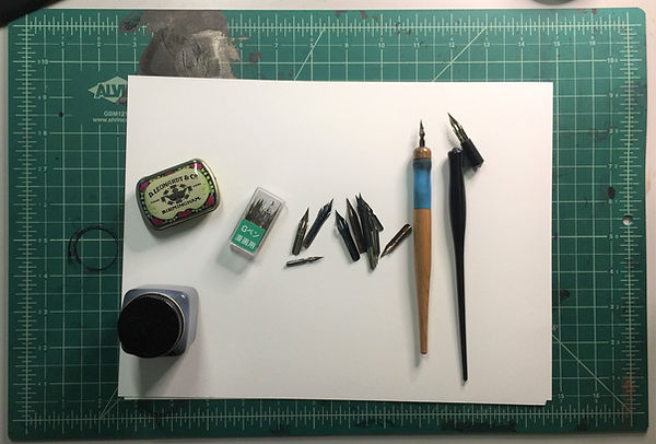 supply list calligraphy.JPG