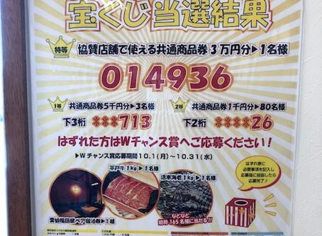 長崎平戸CNジャンボ宝くじ結果発表