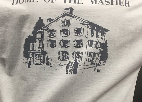 """Home of the Masher"" Swan Bar t-shirt"