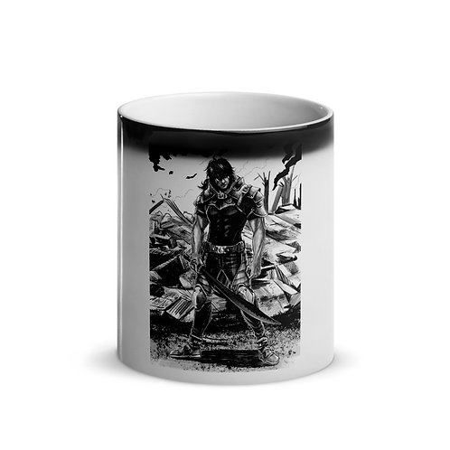"""Ready For War"" Glossy Magic Mug"