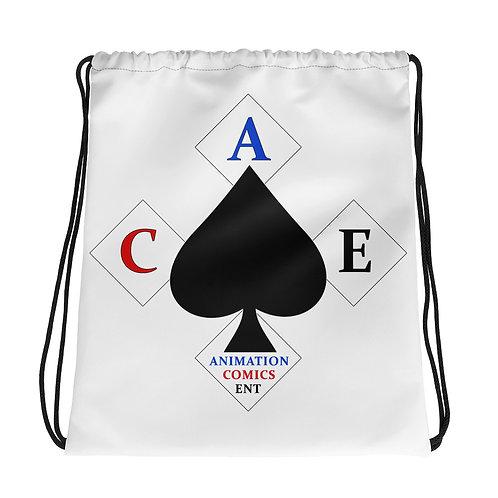"""""""A.C.E. Logo"""" Drawstring bag"""