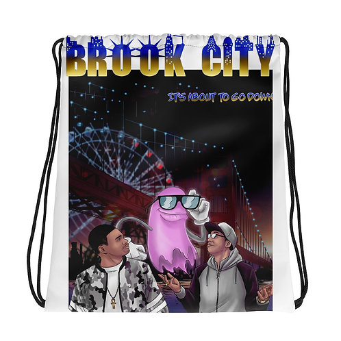 """BROKK-CITY"" Drawstring bag"