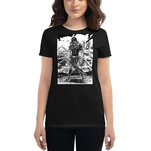 """Ready For War"" Women's Short Sleeve T-Shirt"