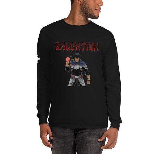 """""""Salvation"""" Fight Men's Long Sleeve Shirt"""