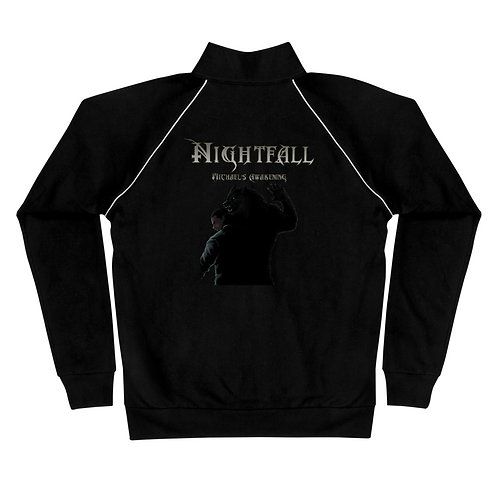 """Nightfall: Michael's Awakening"" Piped Fleece Jacket"